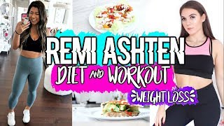 Trying Remi Ashten's Diet & Workout To LOSE WEIGHT !!