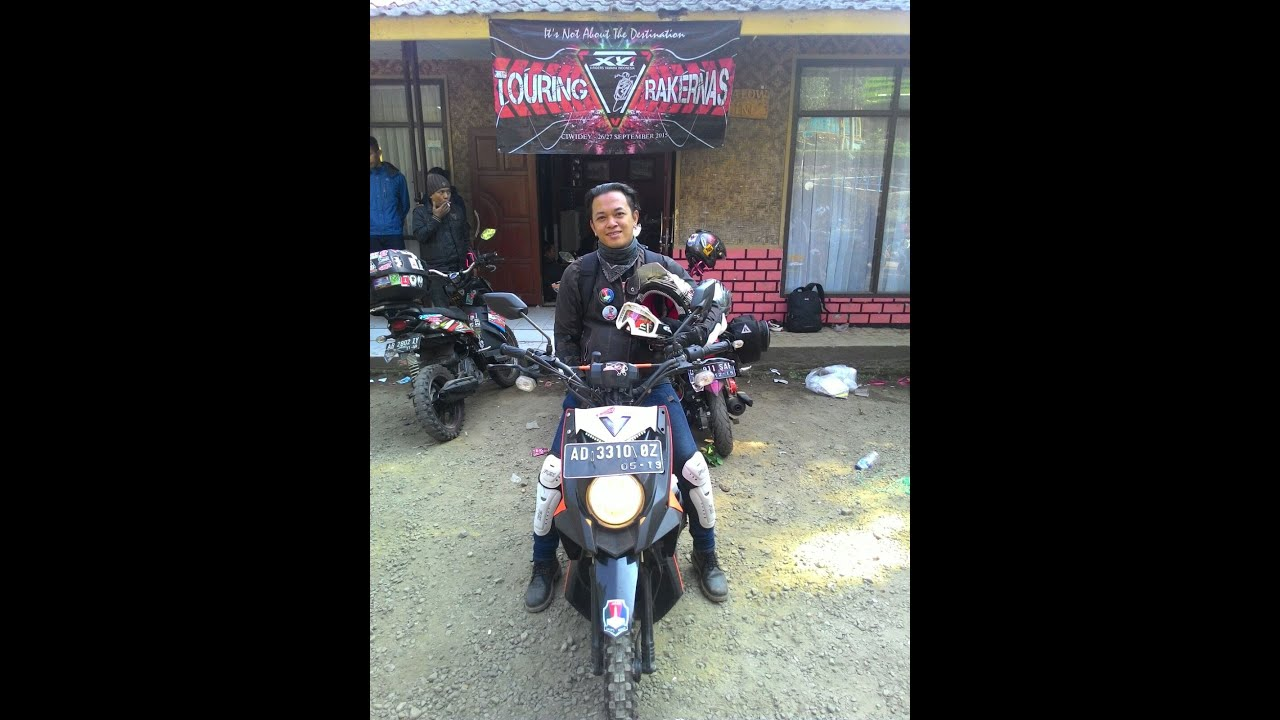 kumpulan x ride modifikasi touring
