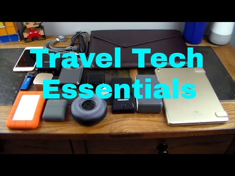 The Most Essential Travel Tech & ECBC Sparrow II Travel Bag