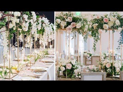 Diy Decorate Wedding Table Centerpiece Floral Backdrop Aisle Or