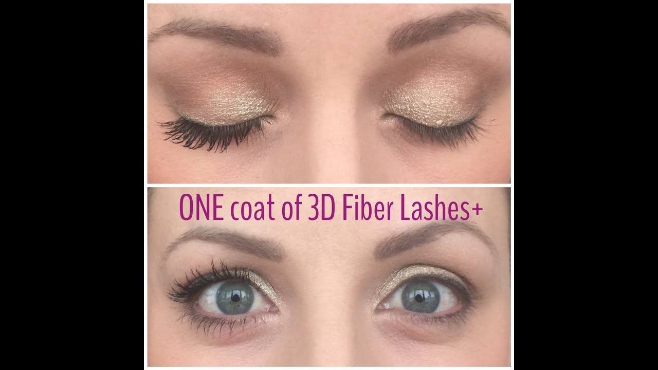 How To Apply Youniques 3d Fiber Lashes Plus 3d Tutorial Get The