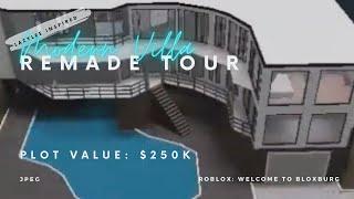 Recorrido por la casa rehecha de Lee Modern Villa (326k) ROBLOX: Bienvenido a Bloxburg