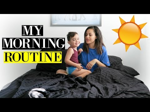 Mommy And Son Morning Routine!