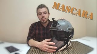 Acoplar Mascara a casco airsoft. ODIN. MercenariosFree Airsoft Spain