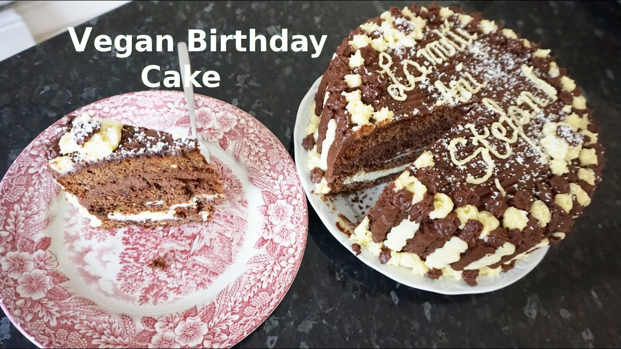 How to Vegan Birthday Cake Recipe Tasty and Delicious Creams and