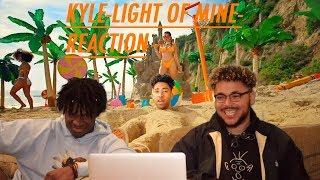 KYLE-LIGHT OF MINE-REACTION!