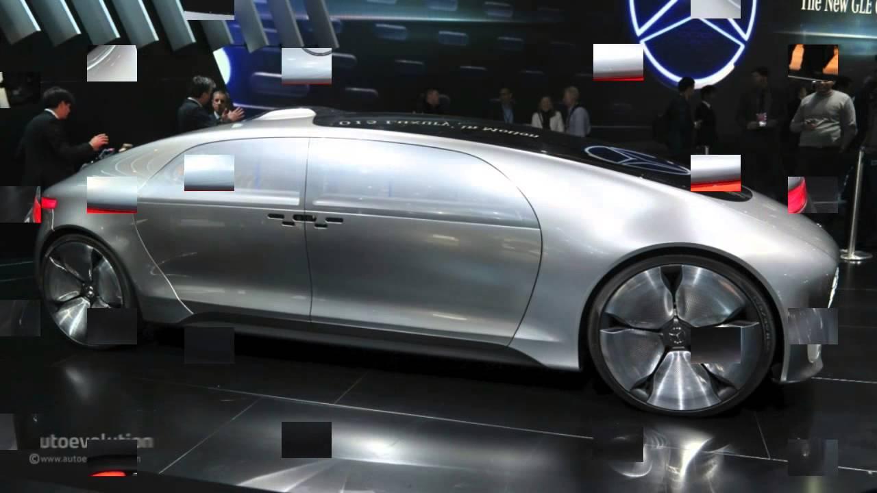 mercedes benz f 015 concept 2015 detroit auto show live photos