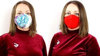 защитная маска (медицинская маска) своими руками