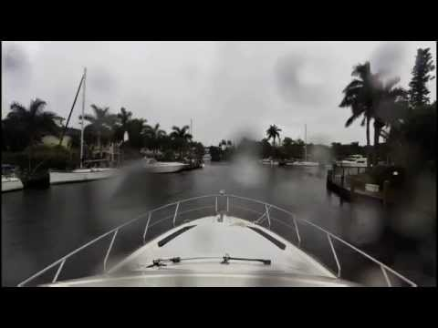 Yacht Delivery by Capt Steve Russell from Ft. Lauderdale to Boca Raton.