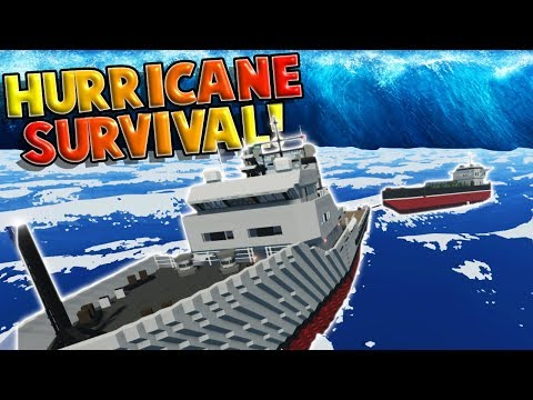 OCEAN RESCUE DURING A HURRICANE?! - Stormworks: Build and Rescue Gameplay Roleplay