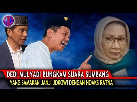 Makjleb! Dedi Mulyadi Bungk4m Suara Sumbang yang Samakan Janji Jokowi dengan Ho4ks Ratna