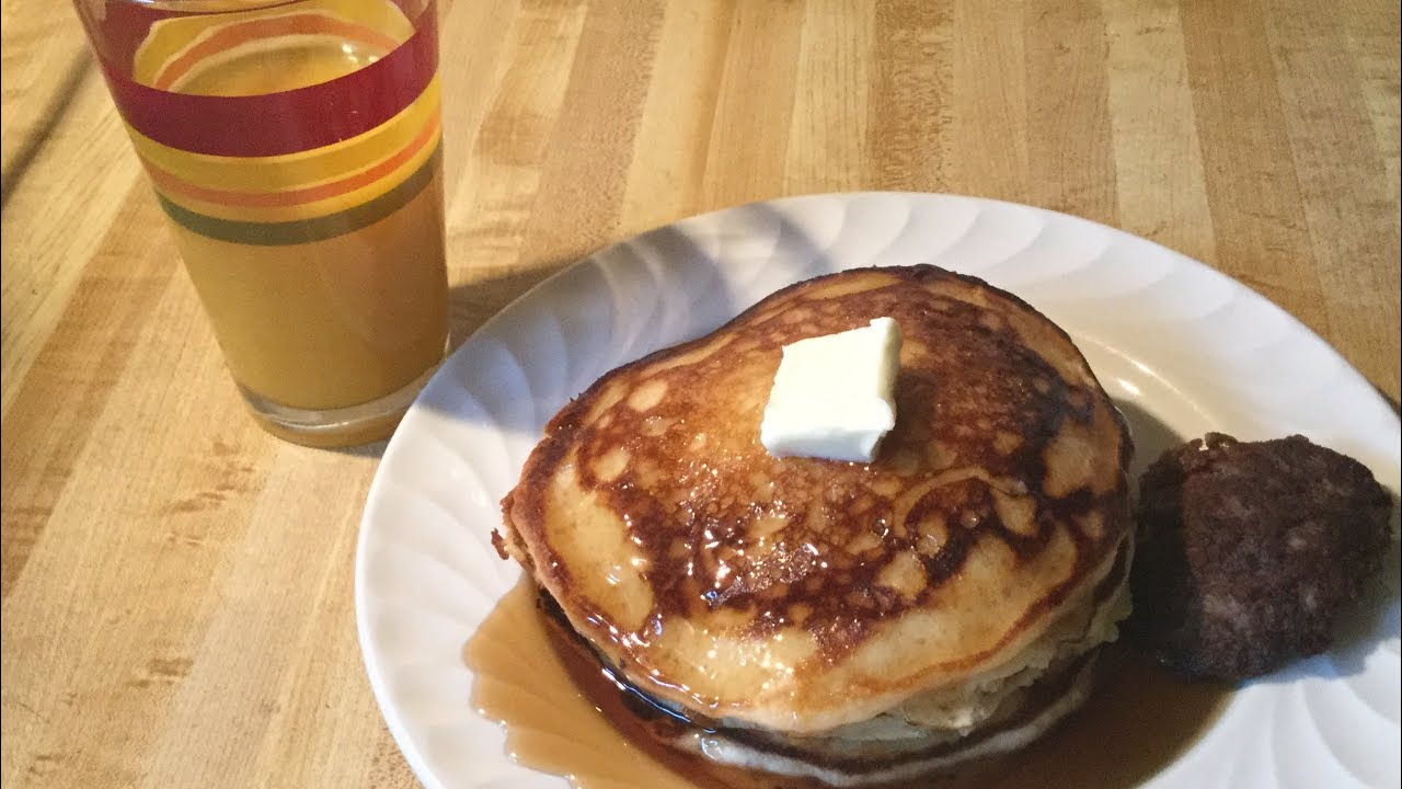 Old Fashioned Homemade Buttermilk Pancakes