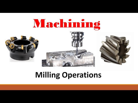 Machining Operations (Part 1: Introduction to Milling)
