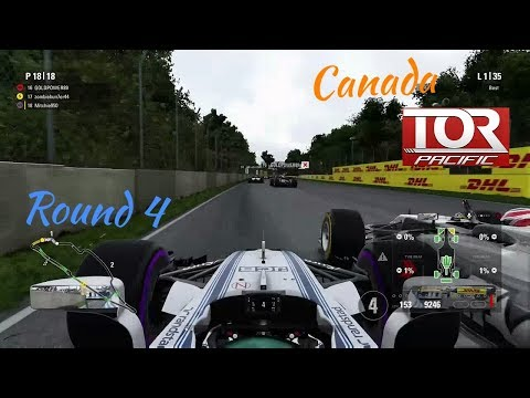 F1 2017 TOR Pacific Season 2 Round 4 Canada- NEVER BEING CAUTIOUS AGAIN!!