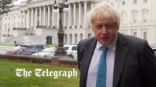video: Boris Johnson and Joe Biden 'astonished' at French complaints over defence pact