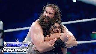 Roman Reigns vs. Luke Harper: SmackDown, Aug. 13, 2015