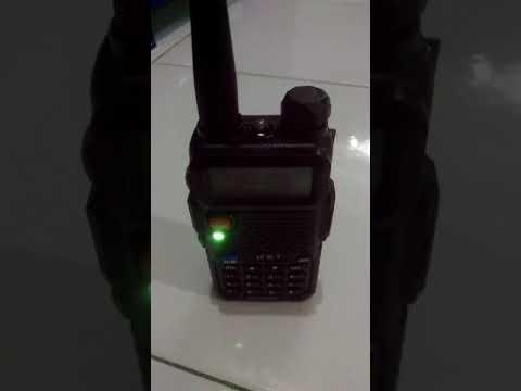 Monitor Frekuensi HT Polisi