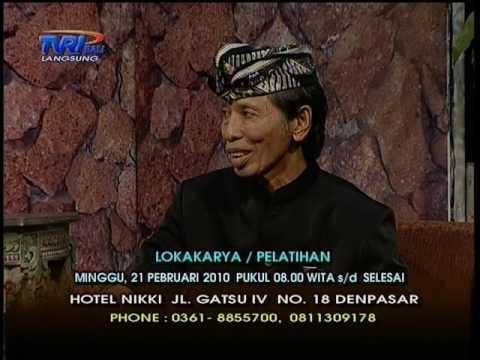 Dialog Reiki & Ling-Chi di TVRI Bali (19/01/2010) - Part 1 Ricky Suharlim