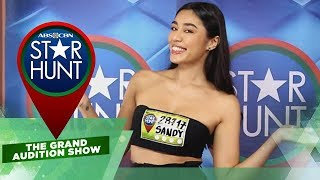 Star Hunt The Grand Audition Show: Bb. Pilipinas 2018 candidate Sandra Lemonon in Star Hunt | EP 15