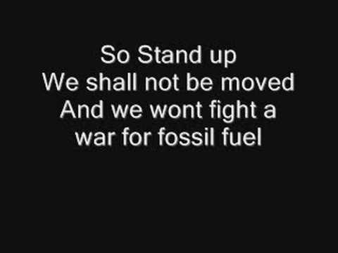 Flobots - Stand Up With Lyrics