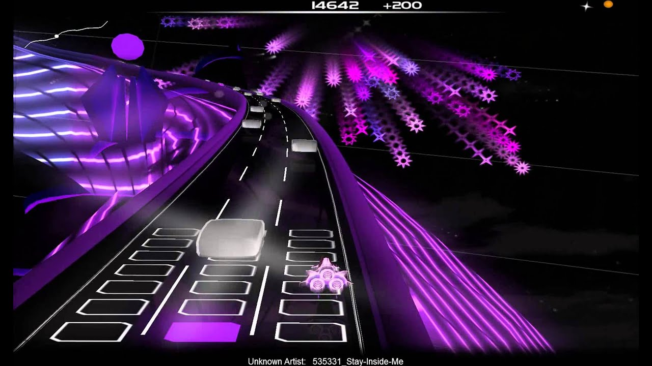 la map audiosurf