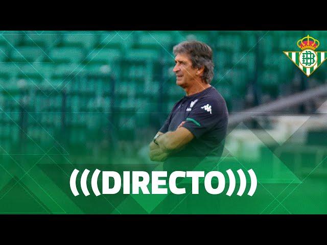 🚨 Rueda de prensa de Pellegrini tras el Real Betis-Real Valladolid 🚨💚 | DIRECTO