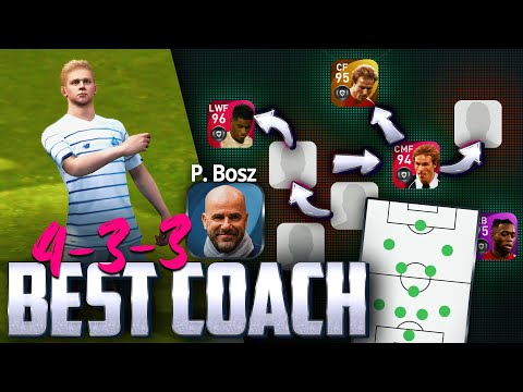 Best Manager for online! • P. BOSZ 4-3-3 formation   PES 21 Mobile