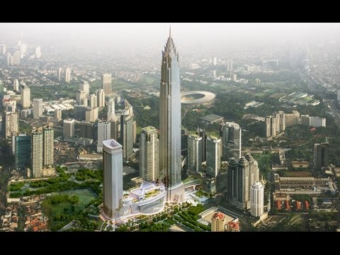 Signature Tower (638m) - South East Asia's 2nd Tallest Building - Indonesia's Future