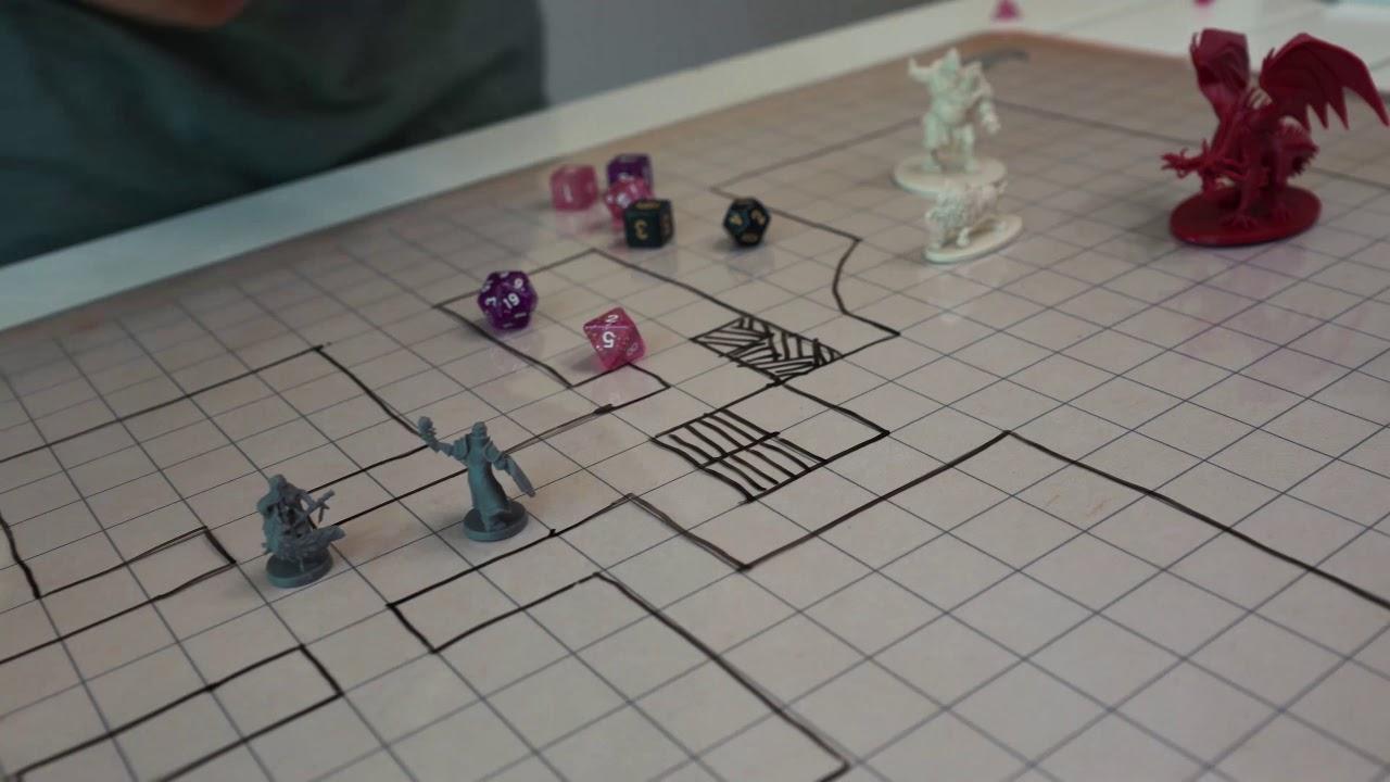 Abishai Battle Grid RPG Mat Demo - The Best RPG Battle Grid Map