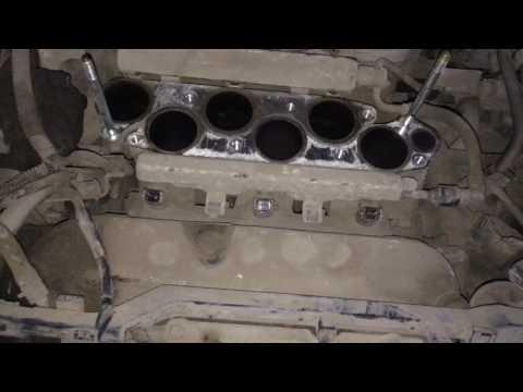 замена датчик детонации на  хонда пилот