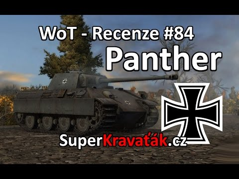 World of Tanks CZ - Panther (recenze #84)