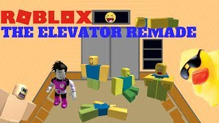 NOOBS EVERYWHERE!!! - Roblox: The Elevator REMADE