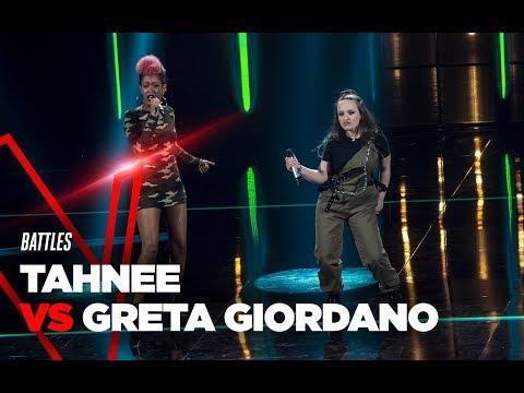 "Tahnee e Greta  ""Woman Like Me"" - Battles - TVOI 2019"