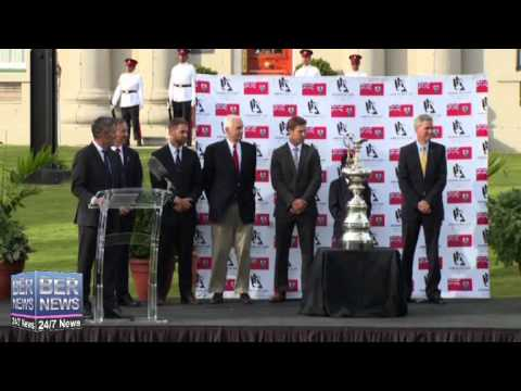 America's Cup Welcomed At Cabinet Grounds, December 3 2014