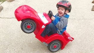 BEST FUNNY KIDS FAILS ★ Kids & Babies Power Wheels Bloopers #2 | Funny Baby Videos