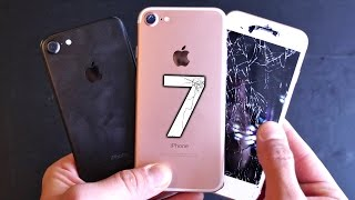 iPhone 7 vs 6S Drop Test!