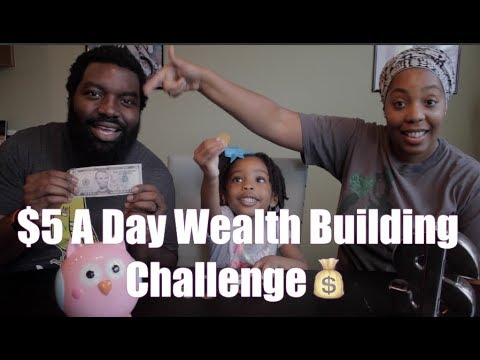 $5 A Day Wealth Building Challenge💰|The Family O