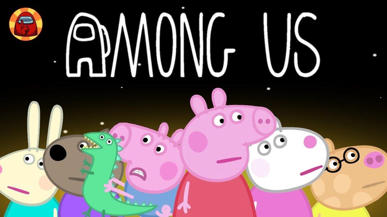 Peppa Pig But It's Among Us