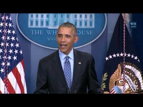 Barack Obama's final speech before leaving...