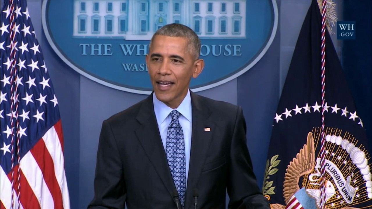 Barack Obama's final speech before leaving the White House