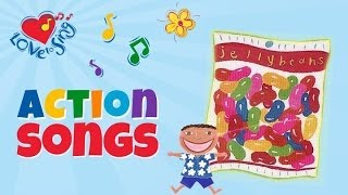 Jelly Beans Color Song - Children Love To Sing Kids Song
