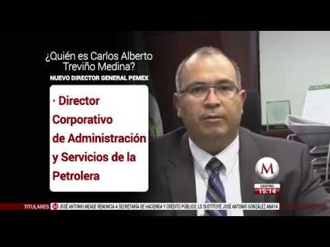 ¿Quién es Carlos Treviño Medina, el nuevo director general de Pemex?