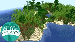 How to Find a Bamboo Jungle - Mitch Plays Minecraft - Ep 407