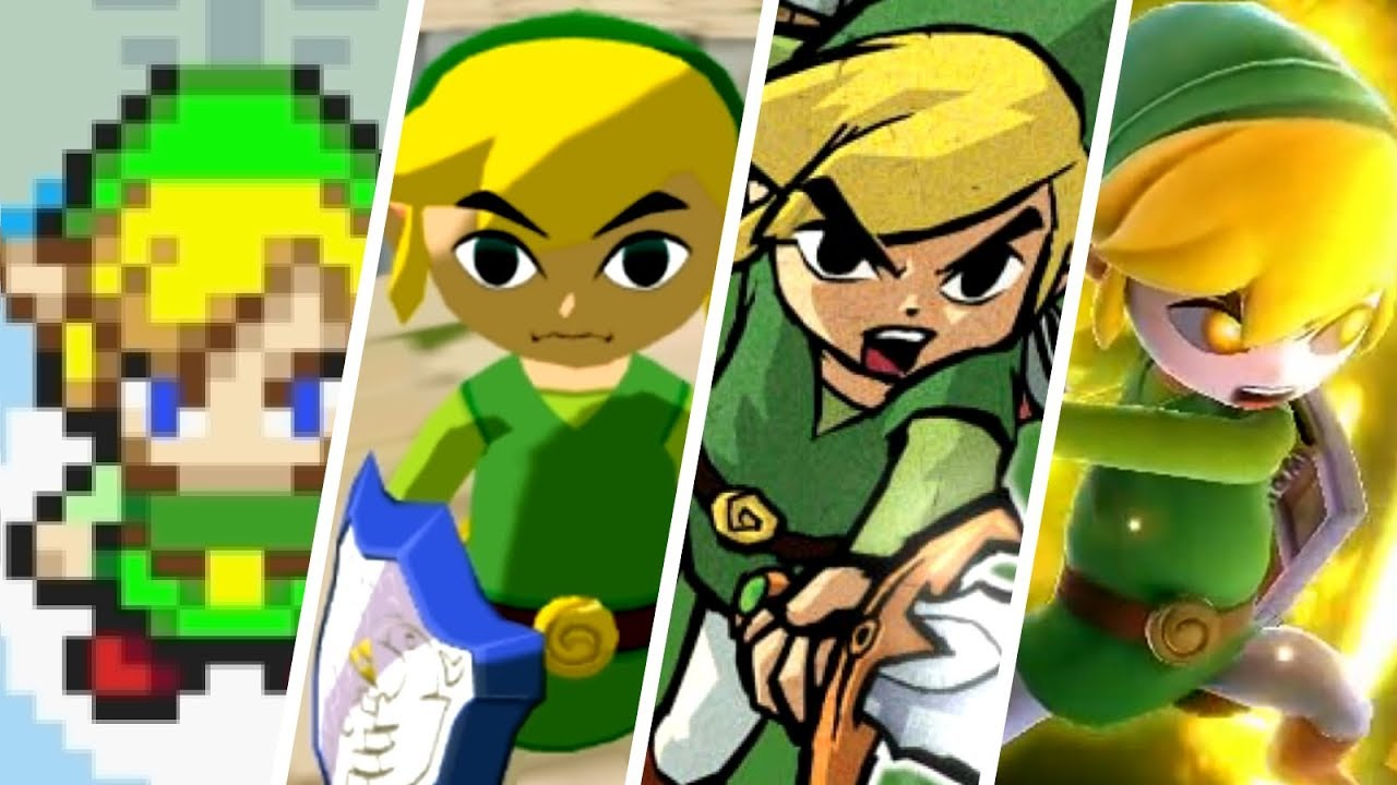 Evolution of Toon Link (2002 - 2018) - YouTube