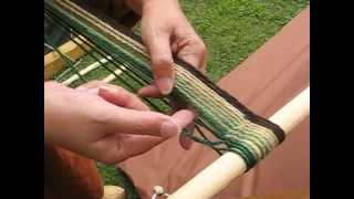 Viking handcraft: Sprang, Part 2