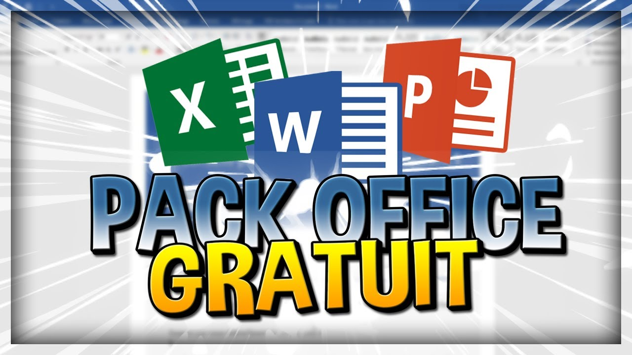 Comment Avoir Le Pack Microsoft Office Gratuitement Youtube