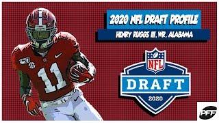 Henry Ruggs III: 2020 NFL Draft Profile   PFF