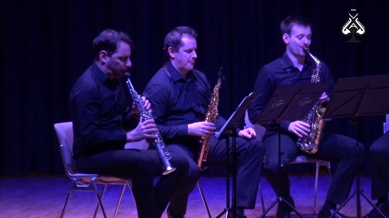 Adolphesax.com - AS Festival - Joseph Haydn Symphony 92 (Oxford) Sax Octect