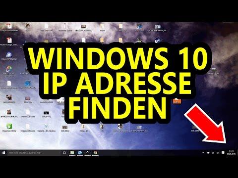 Windows 10 - IP Adresse finden