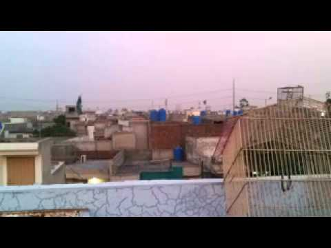 Azan E Maghrib In Lahore Cantt